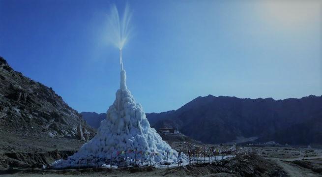 ice-stupas